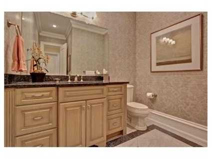 The home has 7 full and two partial bathrooms.