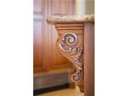 Custom woodworking.