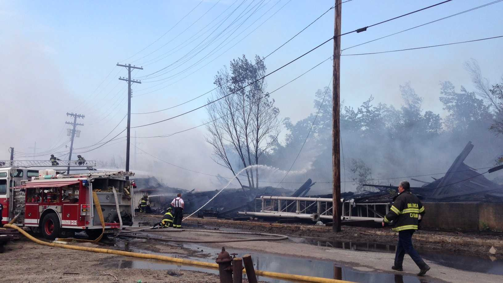 Billerica Brush Fire 060213
