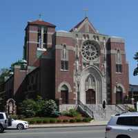 St. Mary's Catholic Church is one of the largest Catholic parishes in the Boston Archdiocese with some 15,000 members.