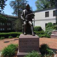 It's the first community in the country to bear Franklin's name.