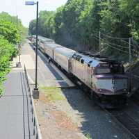 Franklin has two MBTA commuter rail stops that runs to Boston's South Station.