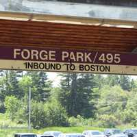 The other stop is located at Forge Park.