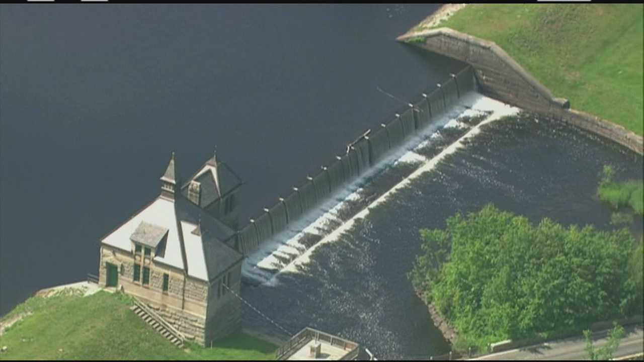 Police, water officials inspecting cut aqueduct locks