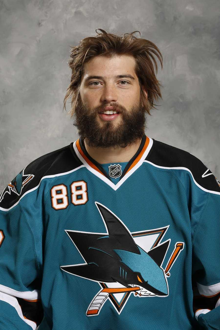 Brent Burns, San Jose Sharks