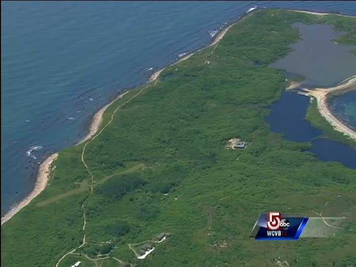A small plane crashed on Cuttyhunk Island, south of New Bedford, the Federal Aviation Administration confirmed Wednesday morning.