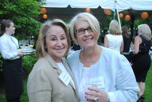 Gail Roberts and Susan Ausiello, manager of the Coldwell Banker Residential Brokerage Wellesley office