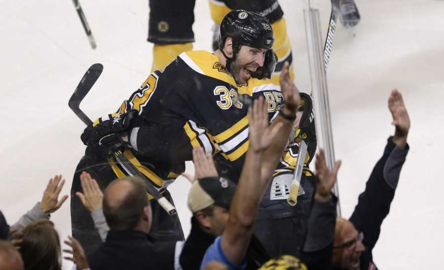 Patrice Bergeron has 5 career playoff game-winning goals. 3 have been in overtime.