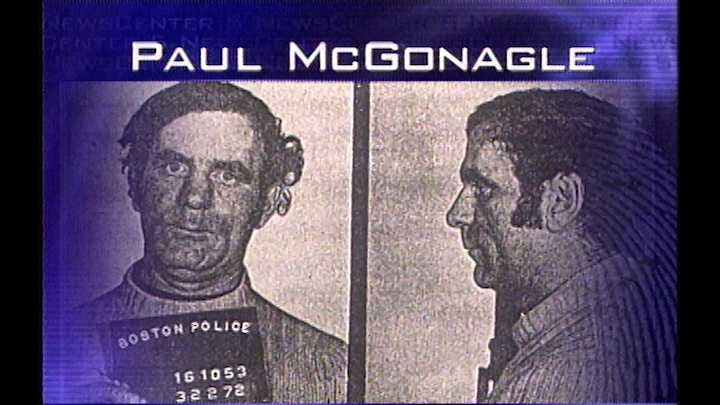 Paul McGonagle was a leader of the Mullen Gang, a South Boston street crew involved in burglary and armed robbery. He was allegedly killed by Bulger in Nov. 1974. Jury found prosecutors proved their case in this death.