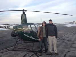Jake and Mike with copter