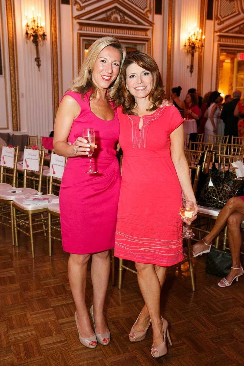 WCVB-TV reporters Kimberly Bookman and Mary Saladna.
