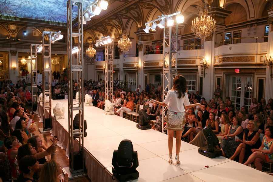 Chronicle's JC Monahan on the fashion runway