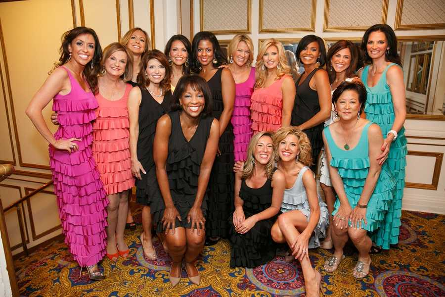 The women of NewsCenter 5 and Chronicle