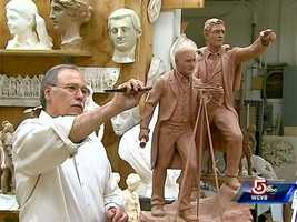 Bob Shure is a sculptor who creates reproductions and prominent public art.