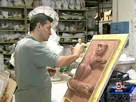 The work at Skylight Studios closely resembles that of a Florentine workshop.