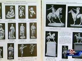 Pietro Caproni had amassed 4000 moulds.