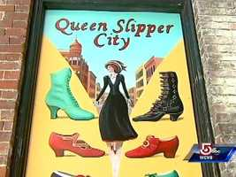 """In 2009, a """"shoe-la-bration"""" celebrated the city's 180 years of shoe-making."""