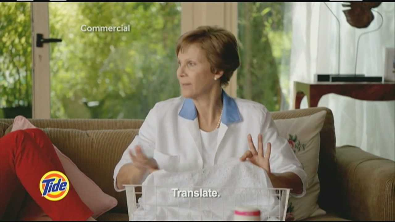 It's the newest trend on TV: commercials in Spanish airing during shows in English.