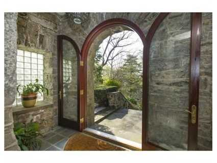 A dramatic entry way.
