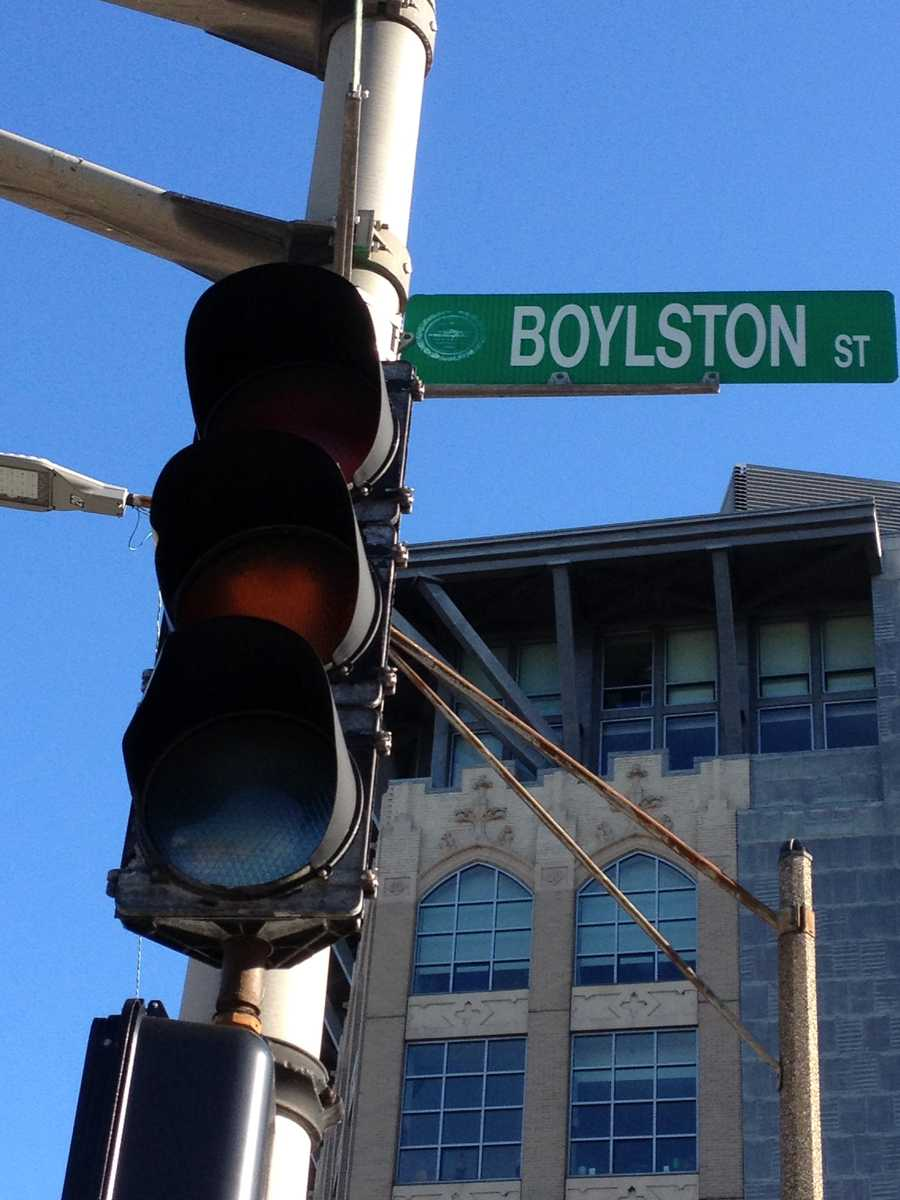 Lights out at Massachusetts Avenue and Boylston Street
