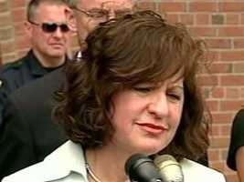 """Woman whose brother was killed in what media reports described as a """"gangland-style"""" slaying in 1963. She also said U.S. Attorney Carmen Ortiz is married to her husband's cousin."""