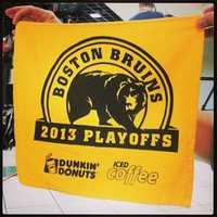 The Bruins are playing the Blackoffs in the Stanley Cup.