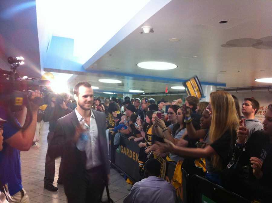 Bruins Center David Krejci