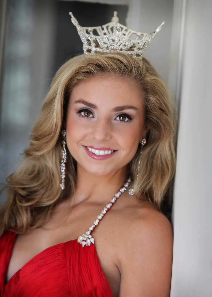 Miss Massachusetts 2012 Taylor Kinzler of Lakeville.  Meet the women who hoped  to take the crown in 2013.