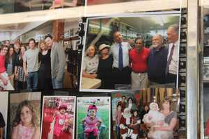 A photo of Obama with some workers now hangs alongside photos of dozens of celebrities who have dined at Charlie's.