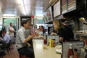 Obama's visit was all everyone at Charlie's was talking about the following day.