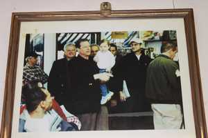 Vice President Al Gore visited Charlie's with Sen. Ted Kennedy.