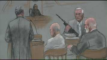 The videos showed Bulger meeting with members of his gang, as well as members of the Italian Mafia.