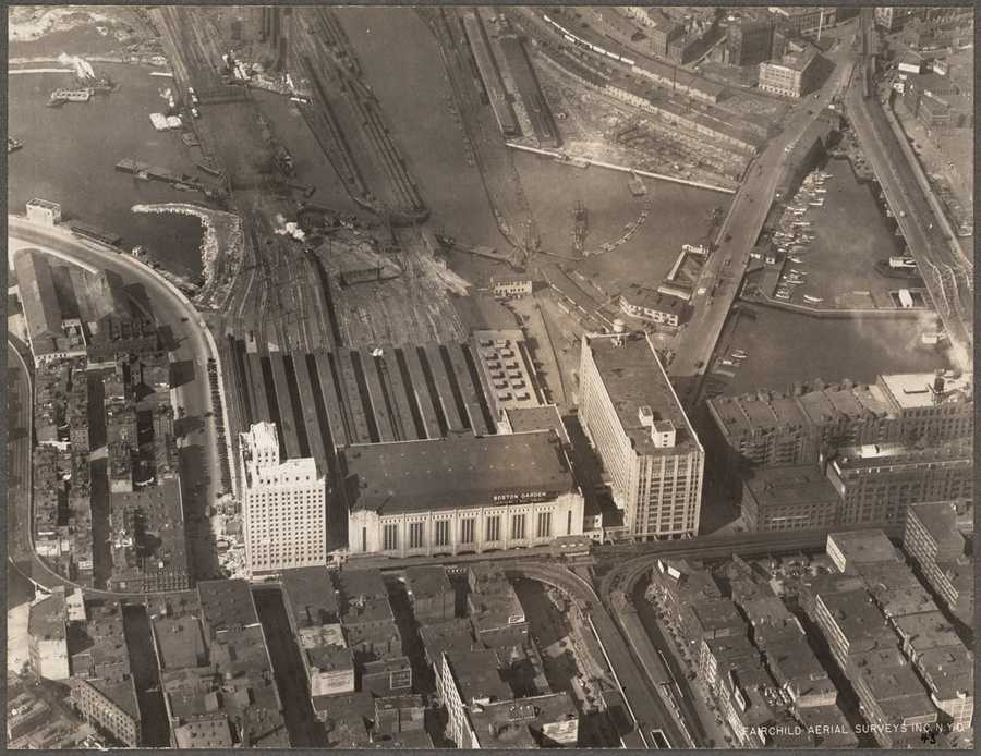 Much of the storied history of the Bruins has taken place in the illustrious Boston Garden - located near Boston's north end. It opened in November 1928.