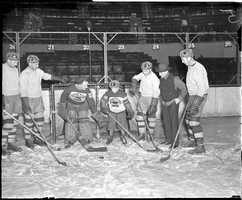 The smaller size was due to the rink being built at a time when the NHL did not have a standard size for rinks.