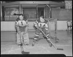 "Adding to the ""home-ice"" advantage: the Garden's hockey rink was much smaller than most other rinks At 191 ft. long by 83 ft. wide, it was some nine feet shorter and two feet narrower than standard rinks."