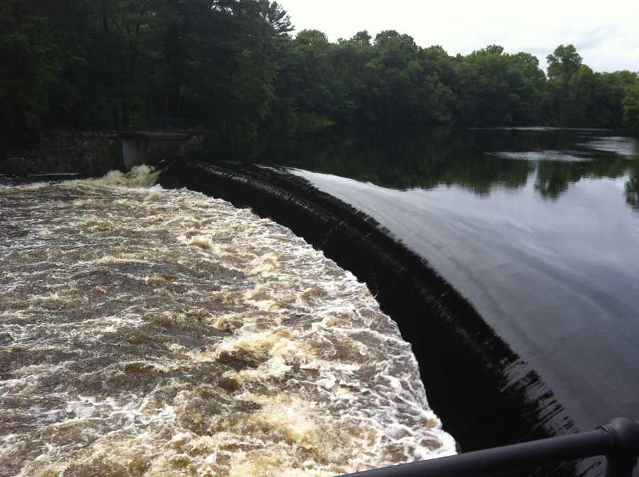 South Natick flooding.