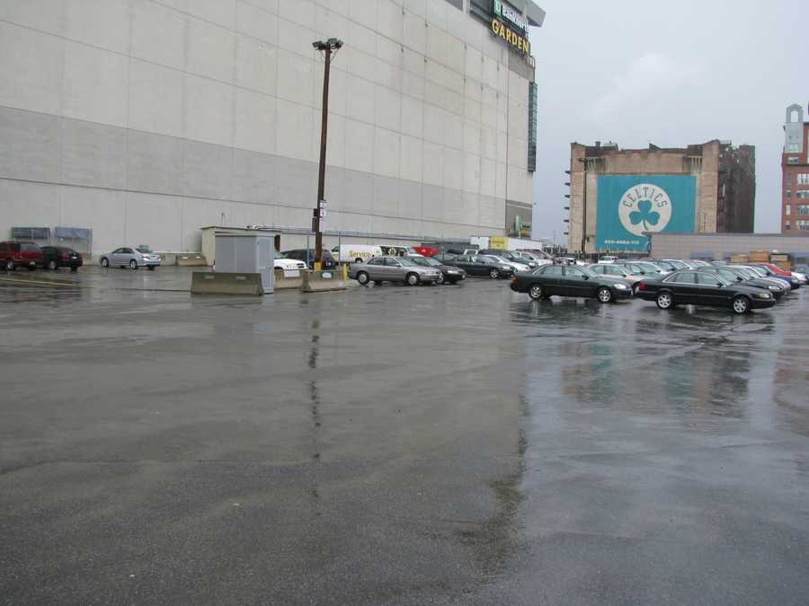 The site where the building once stood is now a parking lot immediately adjacent to the arena's successor, TD Garden.