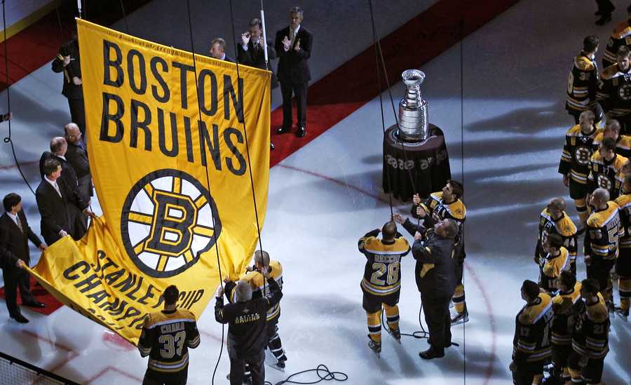 The 2010–11 Bruins ended a 39-year Stanley Cup drought, beating the Vancouver Canucks 4-3.The team was the first team in NHL history to win a Game 7 three times in the same playoff run.