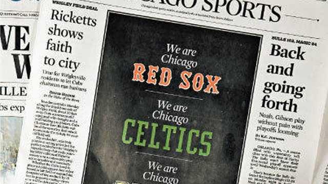 Chicago Tribune Bruins 061413