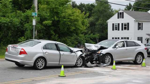One person is killed following a head-on crash in Leicester on June 16, 2013.