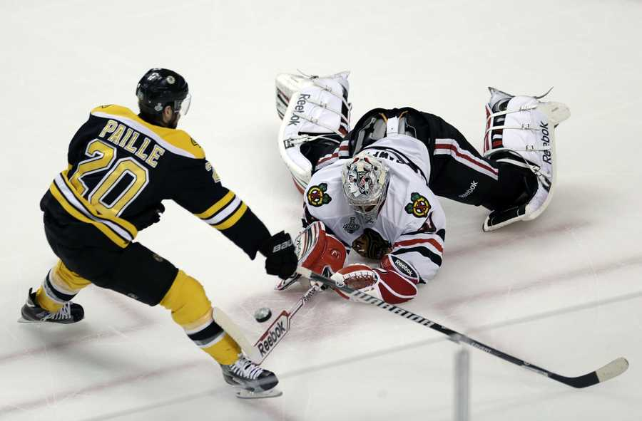 Paille's trade to Boston was the first-ever trade of a player between the two division rivals in their 39 years in the NHL.