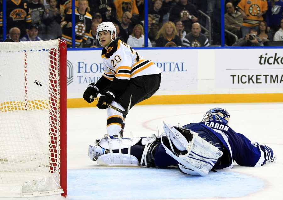 """Bruins' teammates call him an """"unsung"""" hero, since he doesn't generally have a lot of flash to his game."""