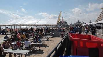 The Hampton Beach Seafood festival was labeled one of the top 100 events in North America by the American Business Association in '96, '01, '03 and '06 (American Business Association)