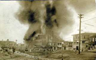 The Hampton Beach fire of 1915 caused $150,000 in damages, or $3,354,311.48 ($3.3 M) in today's money (Lane Memorial Library)