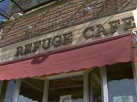 Refuge Cafe is on Brighton Avenue.