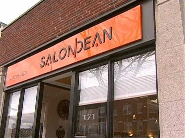 Also on Brighton Ave. is Salon Dean, with a diverse clientele.