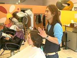 Adults and kids come to the Salon for trendy Korean styles.