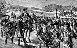 New Hampshire provided the Continental Army with three regiments who were called in to fight at the Battle of Bunker Hill, the Battle of Bennington, the Saratoga Campaign and the Battle of Rhode Island.