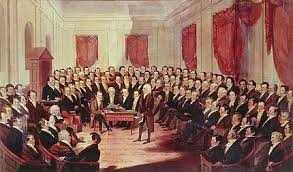 In January 1776, New Hampshire became the first colony to establish an independent government and form a constitution.
