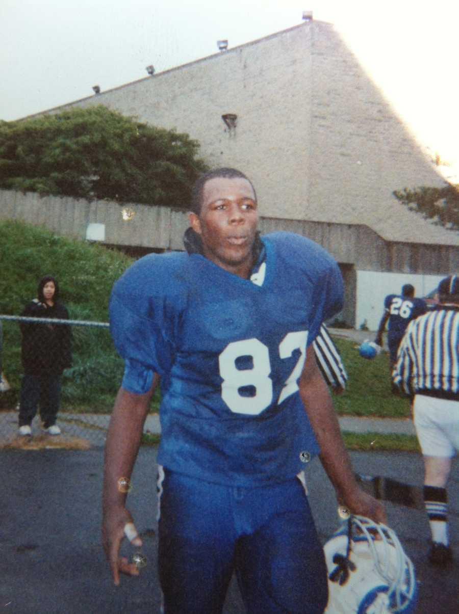 "Lloyd was a semi-pro football player on the ""Boston Bandits"" team"
